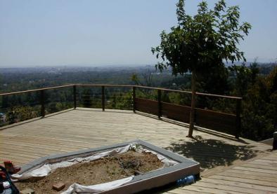 Création de terrasse en bois à Rillieux