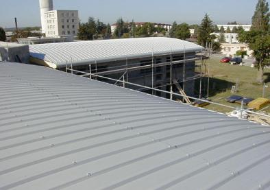 Bac Acier pour couverture de toiture à Lyon Rillieux