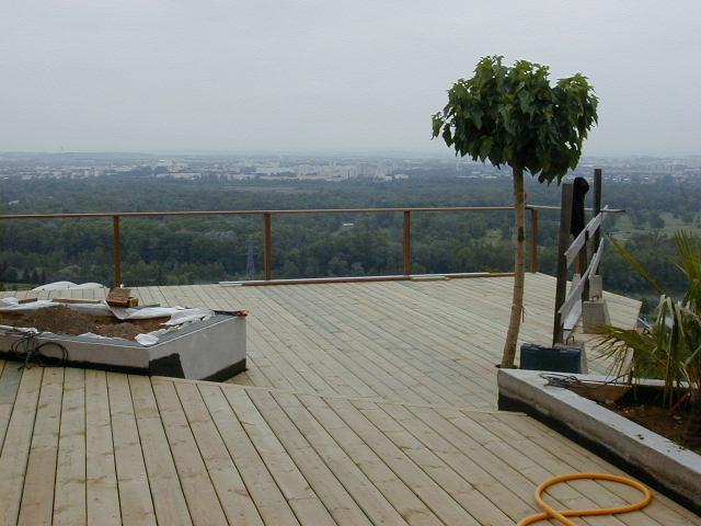 Terrasse bois sur RILLIEUX