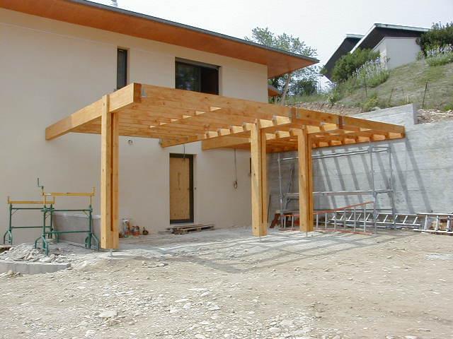 Création d'un abri, d'une terrasse bois et de garde corps sur RILLIEUX