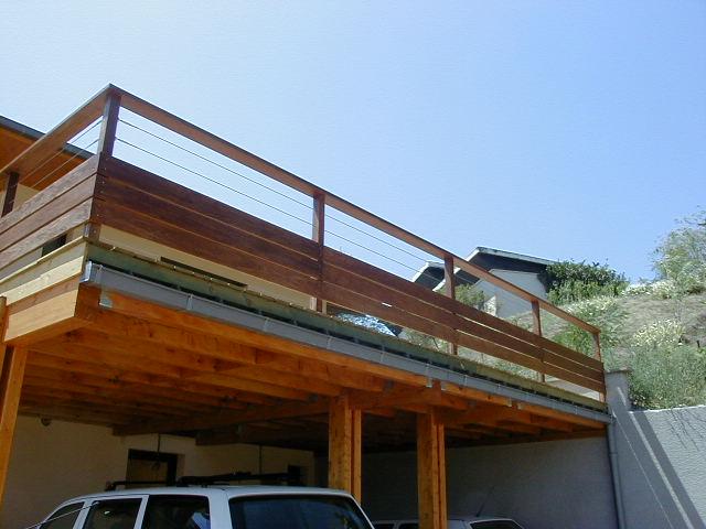 Terrasse bois Garde corps sur RILLIEUX